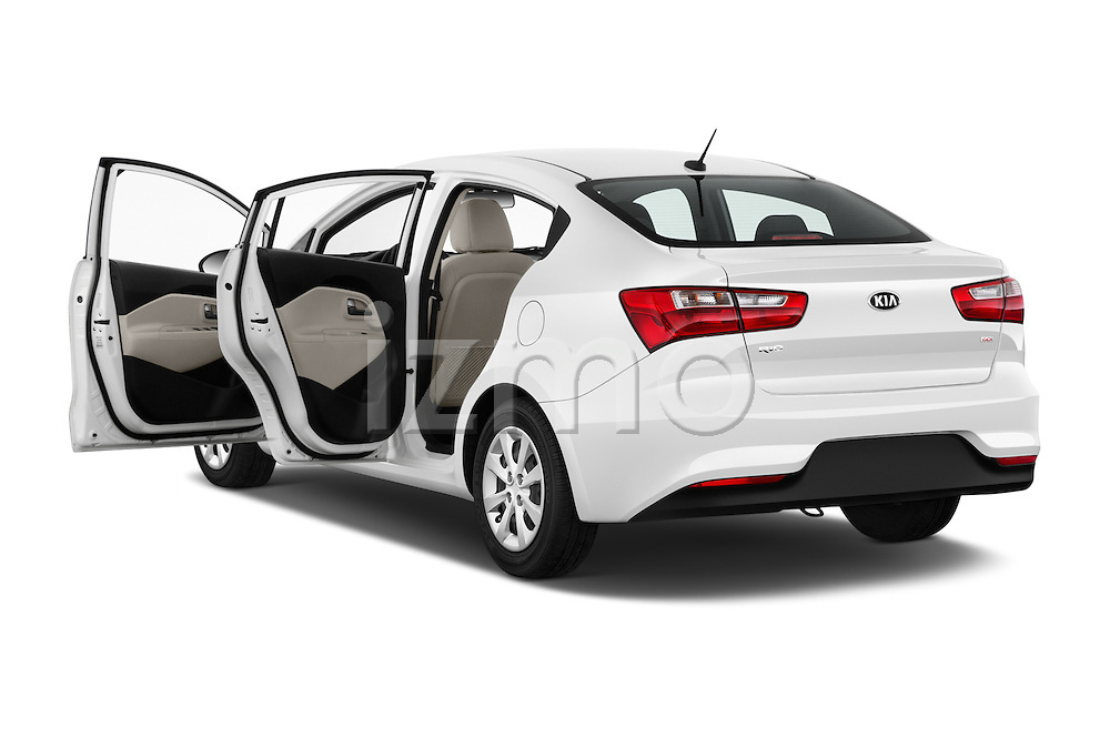 Car images of 2016 KIA Rio LX-AT 4 Door Sedan Doors