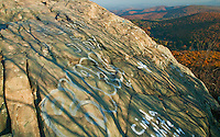 Graffiti on Humpback Rocks, Blue Ridge Parkway