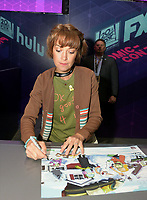SAN DIEGO COMIC-CON© 2019:  20th Century Fox Television and Hulu's Solar Opposites Cast Member Mary Mack during the Solar Opposites booth signing on Friday, July 19 at the SAN DIEGO COMIC-CON© 2019. CR: Alan Hess/20th Century Fox Television