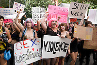 SlutWalk NYC March & Rally