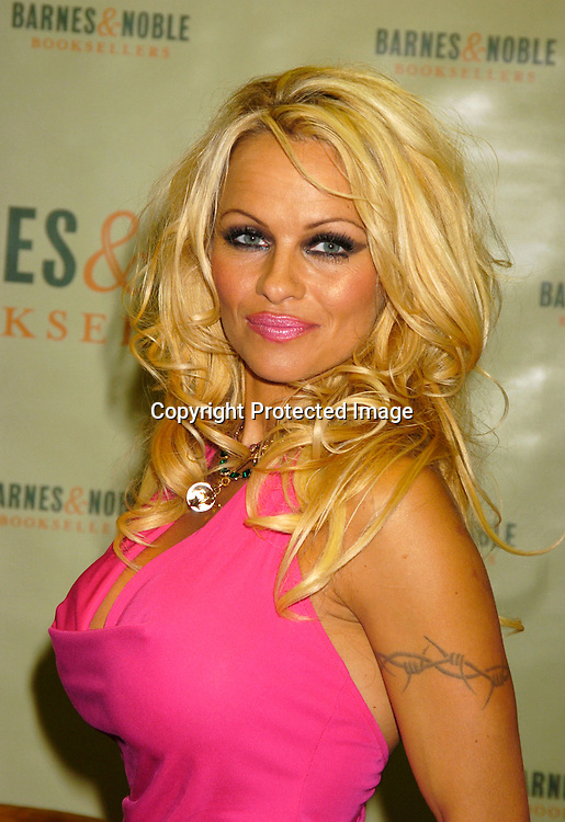 "Pamela Anderson ..at a booksigning for Pamela Anderson's new novel  ""Star"" ..on August 2,  2004 at Barnes and Nobles in New York City. ..Photo by Robin Platzer, Twin Images"