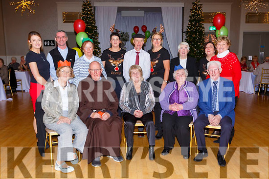 Joan Daly, Lorraine Kelly and Cecily O'Donoghue enjoying the Christmas party in the Killarney OAks hotel on Sunday
