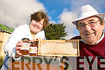 SWEET: Mary and Pat Curran from Killorglin, whose honey making business is thriving despite the current recession.