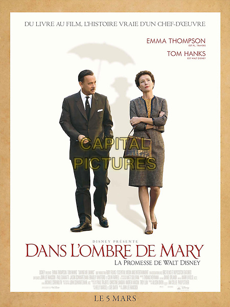 FRENCH POSTER ART<br /> in Saving Mr. Banks (2013)<br /> (Dans l'ombre de Mary - La promesse de Walt Disney) <br /> *Filmstill - Editorial Use Only*<br /> CAP/NFS<br /> Image supplied by Capital Pictures