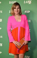 """LOS ANGELES - FEBRUARY 27: Catherine Dent attends the red carpet premiere event for FXX's """"Dave"""" at the Directors Guild of America on February 27, 2020 in Los Angeles, California. (Photo by Frank Micelotta/FX Networks/PictureGroup)"""