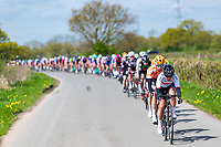 Picture by Alex Whitehead/SWpix.com - 03/05/2018 - Cycling - 2018 Asda Women's Tour de Yorkshire - Stage 1: Beverley to Doncaster - Eri Yonamine of Wiggle High5 leads the peloton.