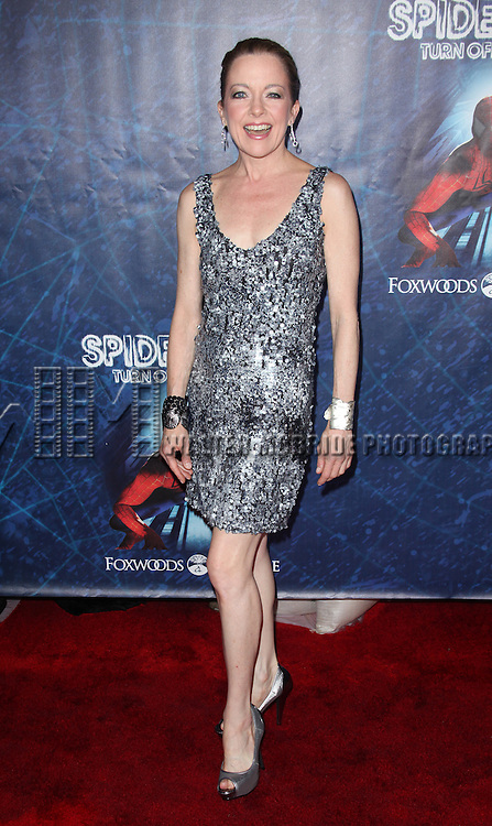 Isabel Keating.attending the ''Spider-Man Turn off the Dark'' Opening Night After Party  in New York City.