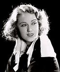 Studio publicity photo of Fay Wray