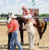 Thirteen Arrows winning at Delaware Park on 7/17/14