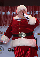 02 December 2017 - Las Vegas, NV - Santa Claus. 2017 Las Vegas Great Santa Run Kickoff with Grand Marshals Wayne Newton and Holly Madison at The Fremont Street Experience. Photo Credit: MJT/AdMedia