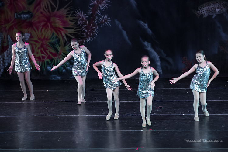 """Friday Evening Performance of """"A Mermaid's Dream"""", the 2015 Annual Recital by the Cary Ballet Conservatory."""