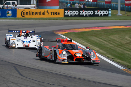 26-28 June, 2015, Watkins Glen, NewYork, USA<br /> 60, Honda HPD, Ligier JS P2, P, John Pew, Oswaldo Negri, Jr., 54, Chevrolet, ORECA FLM09, PC, Jon Bennett, Colin Braun, James Gue<br /> ©2015, Richard Dole<br /> LAT Photo USA