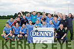 Champions<br /> ----------------<br /> Dingle Bay Rovers were in top form after winning the Denny sponsored Premier District League beating the favourites Killarney Celtic 4-3 in a thrilling match at Mounthawk park, Tralee last Friday evening.