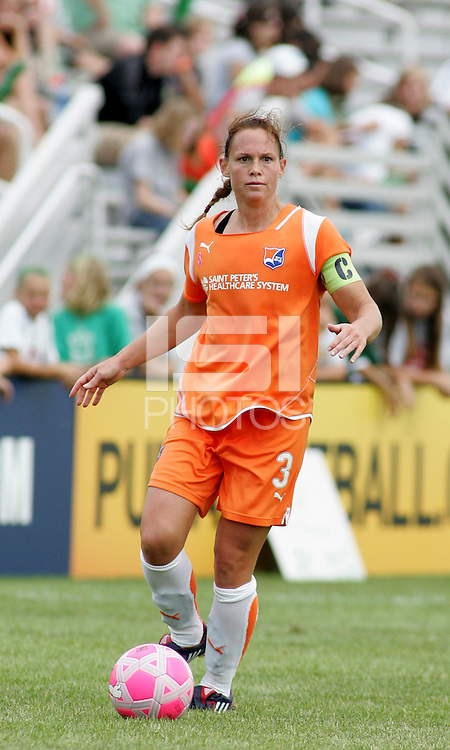 Christie Rampone..Saint Louis Athletica defeated Sky Blue FC 1-0 at Anheuser-Busch Soccer Park, Fenton, Missouri.