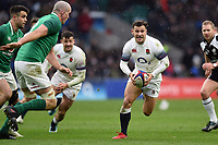 Danny Care of England in possession. Natwest 6 Nations match between England and Ireland on March 17, 2018 at Twickenham Stadium in London, England. Photo by: Patrick Khachfe / Onside Images
