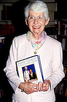 Dorothy Letterman David Lettermans mother booksigning<br /> NYC 1996