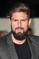 LONDON, UK. November 28, 2016: Olivier Giroud at the &quot;I Am Bolt&quot; World Premiere at the Odeon Leicester Square, London.<br /> Picture: Steve Vas/Featureflash/SilverHub 0208 004 5359/ 07711 972644 Editors@silverhubmedia.com
