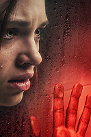 Promotional art with India Eisley<br /> Look Away (2018)<br /> *Filmstill - Editorial Use Only*<br /> CAP/RFS<br /> Image supplied by Capital Pictures