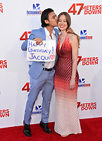 Yani Gellman &amp; Guest at the Los Angeles premiere for &quot;47 Meters Down&quot; at the Regency Village Theatre, Westwood. <br /> Los Angeles, USA 12 June  2017<br /> Picture: Paul Smith/Featureflash/SilverHub 0208 004 5359 sales@silverhubmedia.com