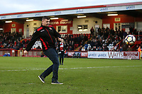 Half-time challenge during Stevenage vs Notts County, Sky Bet EFL League 2 Football at the Lamex Stadium on 11th November 2017