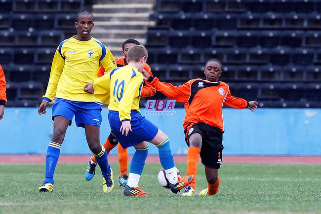 LAMBETH TIGERS v WESTSIDE<br /> LONDON SATURDAY YOUTH CUP U12 FINAL SATURDAY 31ST MARCH 2012 CRYSTAL PALACE