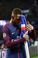 Celebration Esultanza de KURZAWA Layvin (PSG) apres son but<br /> Parigi 31-10-2017 <br /> Paris Saint Germain - Anderlecht Champions League 2017/2018<br /> Foto Panoramic / Insidefoto