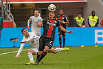 17.03.2019, BayArena, Leverkusen, GER, 1. FBL, Bayer 04 Leverkusen vs. SV Werder Bremen,<br />  <br /> DFL regulations prohibit any use of photographs as image sequences and/or quasi-video<br /> <br /> im Bild / picture shows: <br /> Kopfball durch Paulinho (Leverkusen #7), Milot Rashica (Werder Bremen #11)<br /> <br /> Foto © nordphoto / Meuter
