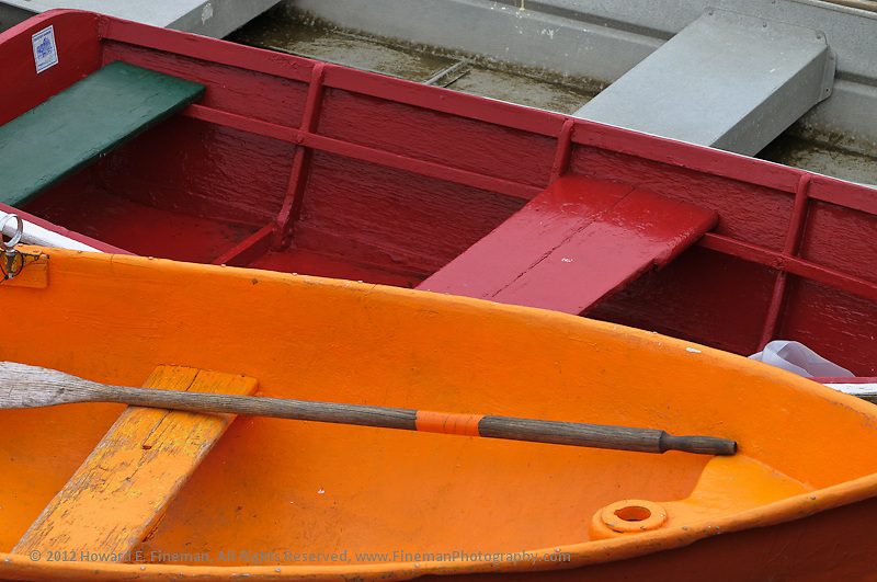 Skiffs, Rockport Harbor, 2012