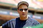 17 June 2006: Joe Torre, manager of the New York Yankees, looks towards the dugout prior to a game against the Washington Nationals at RFK Stadium, in Washington, DC. The Nationals overcame a seven run deficit to win 11-9 in the second game of the interleague series...Mandatory Photo Credit: Ed Wolfstein Photo...