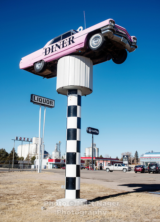 The I-70 Diner near Agate, Colorado, Thursday, January 18, 2013. <br /> <br /> Photo by Matt Nager