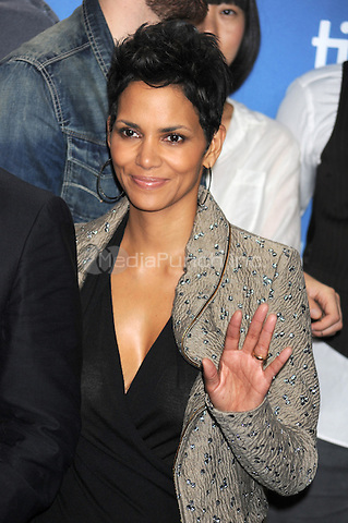 TORONTO, ON - SEPTEMBER 09: Halle Berry at 'Cloud Atlas' press conference during the 2012 Toronto International Film Festival held at TIFF Bell Lightbox on September 9, 2012 in Toronto, Ontario. © mpi01/MediaPunch Inc.