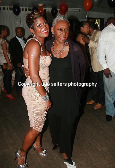 Jocelyn Taylor and Bethann Hardison Attend Jocelyn Taylor's Birthday Celebration and Official Launch of JRT Multimedia, LLC (A Luxury Branding Company)at Nikki Beach Midtown, New York, 3/26/2011