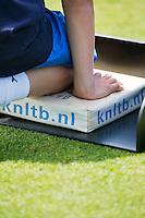 16-06-13, Netherlands, Rosmalen,  Autotron, Tennis, Topshelf Open 2013, Eerste ronde,  KNLTB pillow<br /> <br /> Photo: Henk Koster