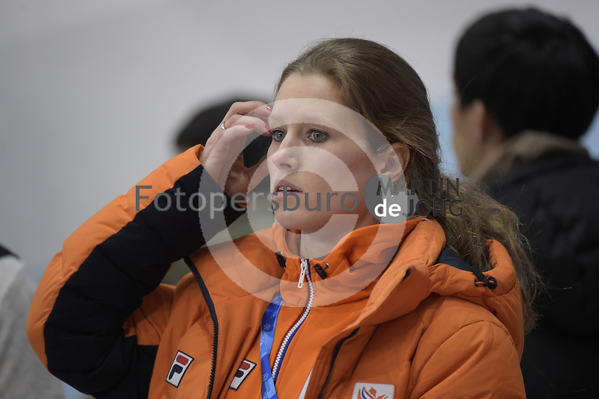 OLYMPIC GAMES: PYEONGCHANG: 22-02-2018, Gangneung Ice Arena, Short Track, Rianne de Vries (NED), ©photo Martin de Jong