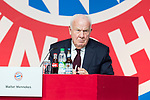 30.11.2018, Audi Dome, Muenchen, GER, FC Bayern Jahreshauptversammlung 2018, im Bild Walter Mennekes (Vizepraesident FCB)<br /> <br /> Foto &copy; nordphoto / Straubmeier