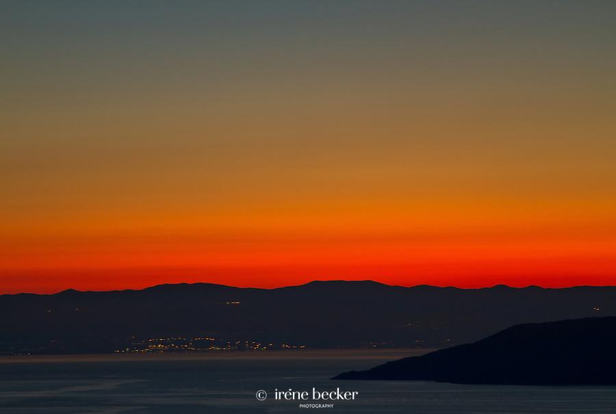 Sunrise,  Rijeka , Croatia
