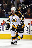 February 17th 2007:  Shean Donovan (22) of the Boston Bruins skates up ice vs. the Buffalo Sabres at HSBC Arena in Buffalo, NY.  The Bruins defeated the Sabres 4-3 in a shootout.