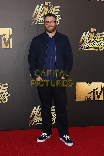 Burbank, CA - April 09 Seth Rogan Attending 25th Annual MTV Movie Awards at Warner Brothers Studios On April 09, 2016. <br /> CAP/ADM/FS<br /> &copy;FS/ADM/Capital Pictures