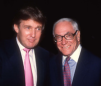 Donald Trump Malcolm Forbes 1985<br /> Photo By Adam Scull/PHOTOlink.net