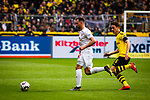 11.05.2019, Signal Iduna Park, Dortmund, GER, 1.FBL, Borussia Dortmund vs Fortuna D&uuml;sseldorf, DFL REGULATIONS PROHIBIT ANY USE OF PHOTOGRAPHS AS IMAGE SEQUENCES AND/OR QUASI-VIDEO<br /> <br /> im Bild | picture shows:<br /> Thomas Delaney (Borussia Dortmund #6) laeuft Niko Giesselmann (Fortuna #23) hinterher, <br /> <br /> Foto &copy; nordphoto / Rauch