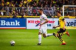 11.05.2019, Signal Iduna Park, Dortmund, GER, 1.FBL, Borussia Dortmund vs Fortuna Düsseldorf, DFL REGULATIONS PROHIBIT ANY USE OF PHOTOGRAPHS AS IMAGE SEQUENCES AND/OR QUASI-VIDEO<br /> <br /> im Bild | picture shows:<br /> Thomas Delaney (Borussia Dortmund #6) laeuft Niko Giesselmann (Fortuna #23) hinterher, <br /> <br /> Foto © nordphoto / Rauch