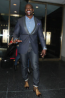 NEW YORK, NY February  22, 2017:Terry Crews at Today Show to talk about hosting NBC series Ultimate Beastmaster in New York . February 22, 2017. Credit:RW/MediaPunch