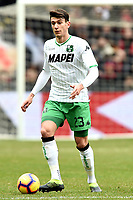 Francesco Magnanelli of Sassuolo <br /> Genova 03-02-2019 Stadio Marassi, Football Serie A 2018/2019 Genoa - Sassuolo   <br /> Foto Image Sport / Insidefoto