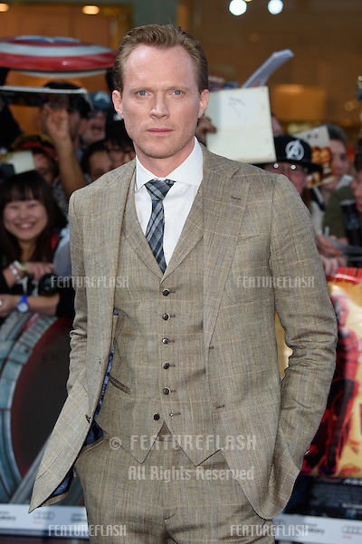 "Paul Bettany arrives for the ""Avengers: Age of Ultron"" European premiere at the Vue cinema, Westfield London. 21/04/2015 Picture by: Steve Vas / Featureflash"