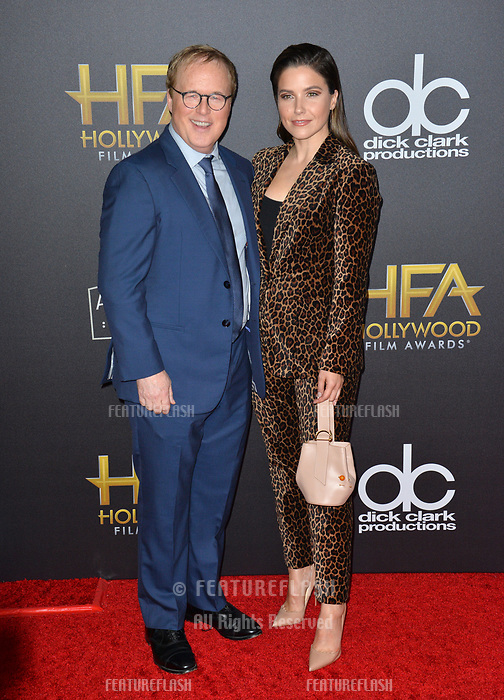 LOS ANGELES, CA. November 04, 2018: Brad Bird &amp; Sophia Bush at the 22nd Annual Hollywood Film Awards at the Beverly Hilton Hotel.<br /> Picture: Paul Smith/FeatureflashLOS ANGELES, CA. November 04, 2018: Brad Bird &amp; Sophia Bush at the 22nd Annual Hollywood Film Awards at the Beverly Hilton Hotel.<br /> Picture: Paul Smith/Featureflash