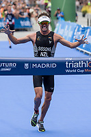Ryan Sissons of New Zealand during the 2017 Madrid ITU Triathlon World Cup in Madrid, May 28, 2017. Spain.. (ALTERPHOTOS/Rodrigo Jimenez) /NortePhoto.com