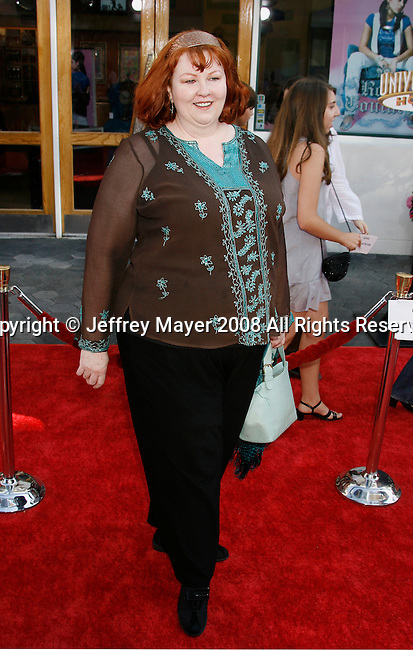 "Actress Lorna Scott arrives at the American Premiere of ""The Mummy: Tomb Of The Dragon Emperor at the Gibson Amphitheatre on July 27, 2008 in Universal City, California."