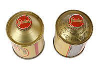 BNPS.co.uk (01202 558833)<br /> ChiswickAuctions/BNPS<br /> <br /> A pair of 80-year-old beer cans - one of which is still full of pale ale - have sold at auction for a staggering £2,300.<br /> <br /> The two tins date back to 1936 and were made by the Felinfoel Brewery in Llanelli, Carmarthenshire.<br /> <br /> Remarkably the brewery, which has been running since 1878, has bought back the cans in a bid to 'maintain their heritage'.