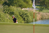Tommy Fleetwood (ENG) on the 7th during the Pro-Am of the Abu Dhabi HSBC Championship 2020 at the Abu Dhabi Golf Club, Abu Dhabi, United Arab Emirates. 15/01/2020<br /> Picture: Golffile | Thos Caffrey<br /> <br /> <br /> All photo usage must carry mandatory copyright credit (© Golffile | Thos Caffrey)