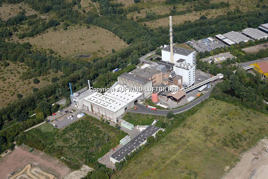 Stapelfeld Müllverbrennung: EUROPA, DEUTSCHLAND, SCHLESWIG- HOLSTEIN, STAPELFELD 22.08.2018: Stapelfeld Müllverbrennung